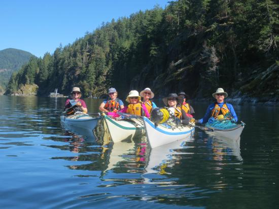 Surge Narrows, Canadá: Coast Mountain Expeditions Sept 2015 Discovery Island Trip