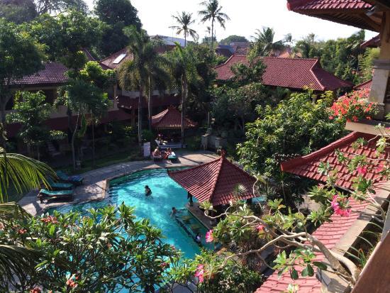 Bali Sandy Cottages : 部屋からの眺め