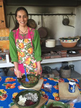 Oaxaca Ollin: This is Carla. Cooking class provided us with our best meal of the trip.