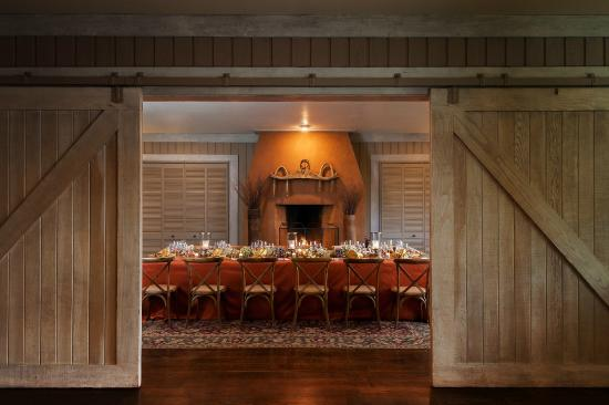 MacArthur Place - Sonoma's Historic Inn & Spa: Tack Room Dinner