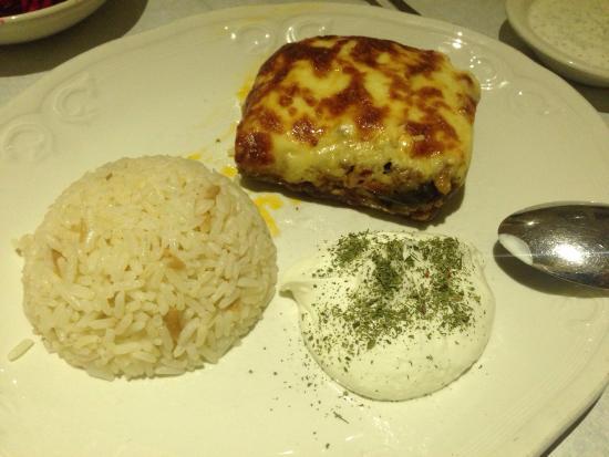 Ekin Restaurant : Lamb moussaka