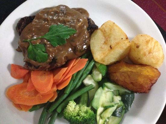 Kempsey Powerhouse Motel: Steak