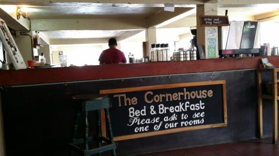 The Cornerhouse: Order and pay at the bar