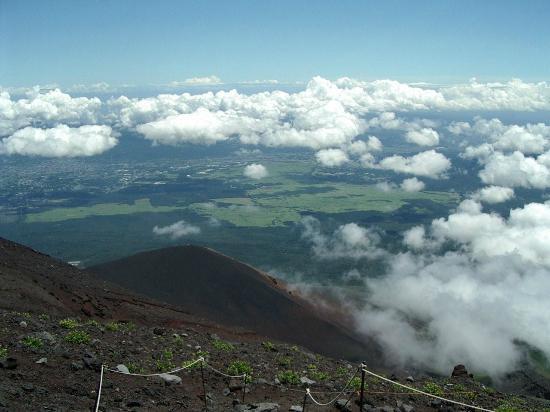 Fuji National Park, Japonia: 9合目付近より♪