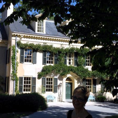 Inn at Montchanin Village: HAGLEY MANSION OF DUPONTS