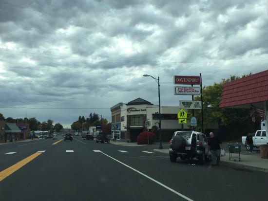 Davenport, WA: Leuk, klein gezellig stadje ��