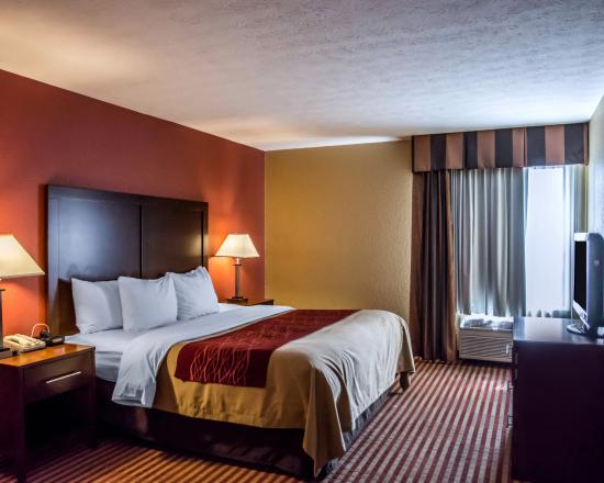 Comfort Inn & Suites Eastgate: King suite with sitting area