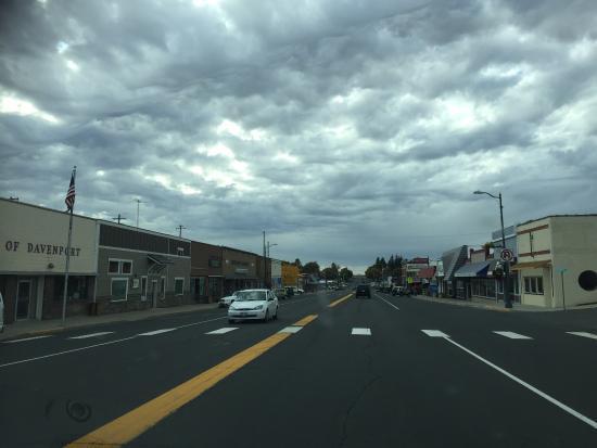 Davenport, WA: Geweldig leuk klein dorpje