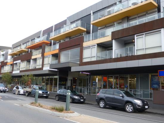 Apartments Ink: Hotel Frontage