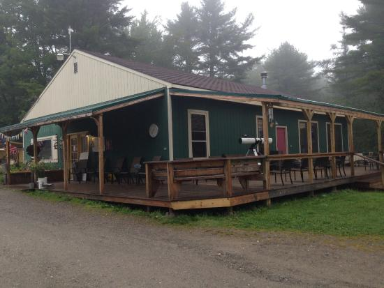 Searsport Shores Oceanfront Campground: Réception du camping