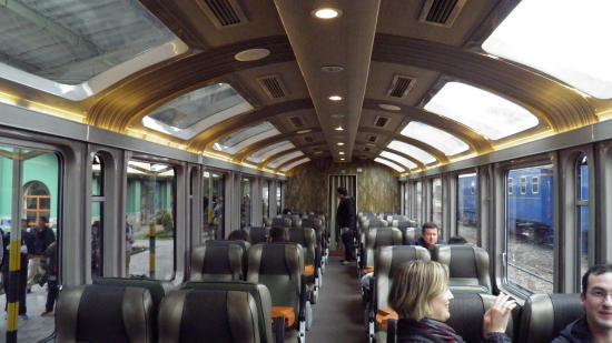Vistadome Train - Poroy Train Station - anywhere.com