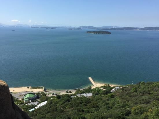 Mt. Ojigatake: 山頂付近からの眺望