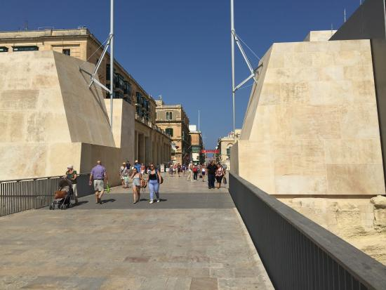 Valletta City Gate