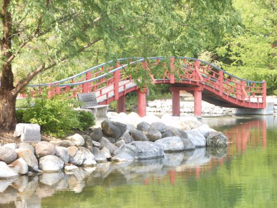 Real cute bridge - Picture of Rotary Botanical Gardens, Janesville ...