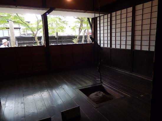 Iwahashi Samurai House : 囲炉裏の部屋