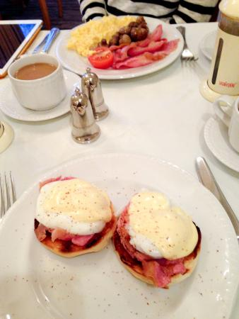 The Devonian: Our delicious breakfast