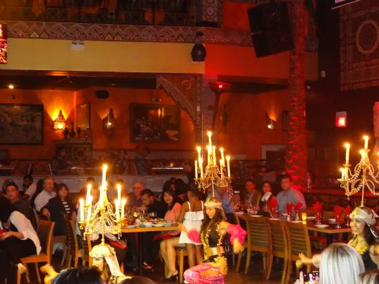 Belly Dancing Restaurant Downtown Chicago