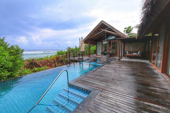 Shangri-La's Villingili Resort and Spa Maldives: My lovely Ocean View Villa