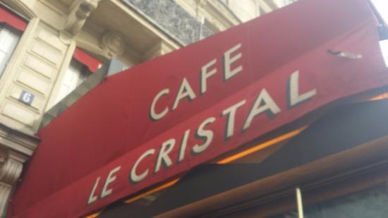 Cafe Le Cristal