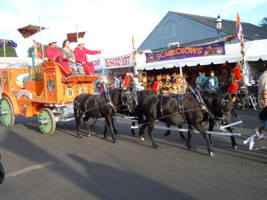Motown The Musical on Broadway : The Famous Clydesdales @ The Big E