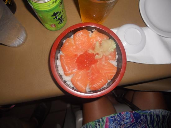 Tasty alaska bowl picture of kojima 39 s sushi bar and for Asian cuisine maui