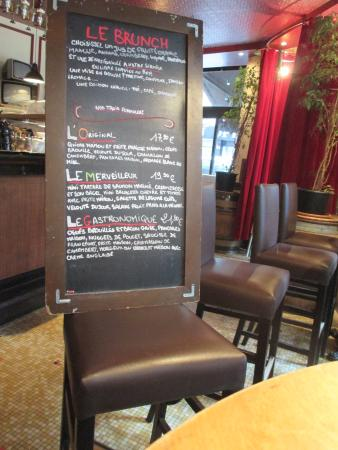 menu photo de comptoir moderne paris tripadvisor. Black Bedroom Furniture Sets. Home Design Ideas