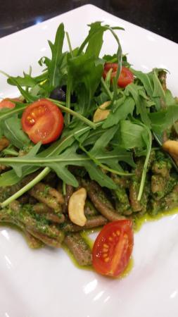 92411d9c2f Green pesto and ruccola pasta - Picture of Pasta Mia, Kecskemet ...