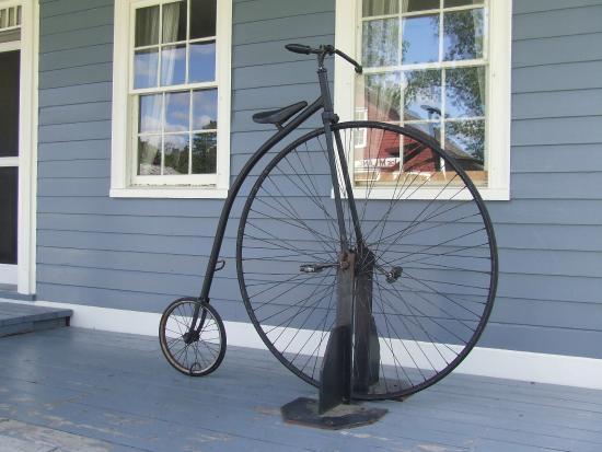 Sherbrooke, Kanada: Penny Farthing Bicycle