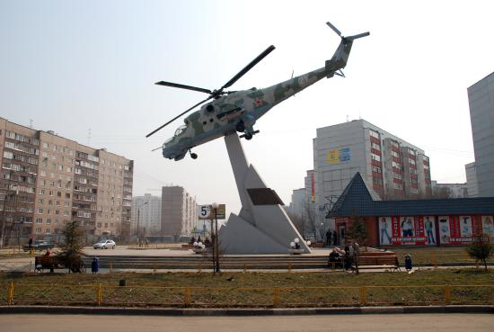 Monument to Peacekeeping Soldiers