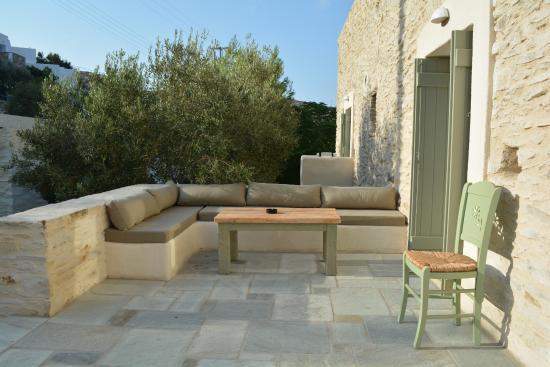 Γιαλός, Ελλάδα: Outdoor seating area