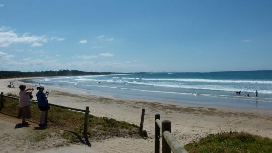 Woolgoolga Beach Holiday Park View Of The Beach