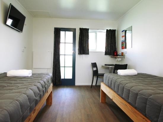 Gisborne, Nuova Zelanda: Studio Unit with Ensuite Bathroom - Twin Beds
