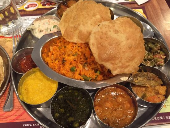 Woodlands : South Indian Thali