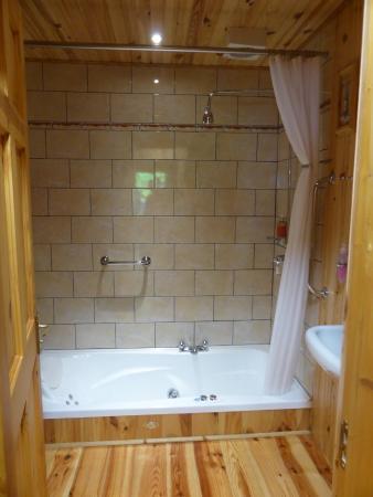 Kylemore Pass Hotel : Bagno stanza n10