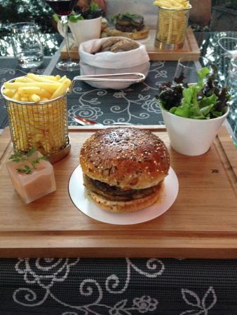 Restaurant La Gare : Foie Gras Burger