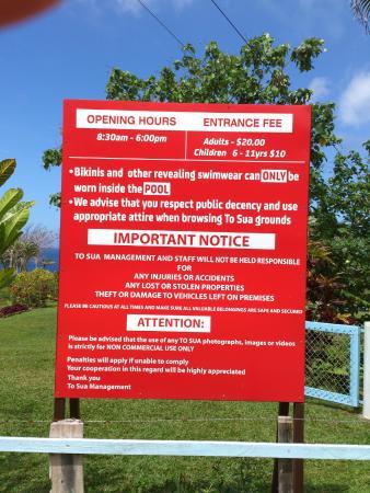 Lotofaga, Samoa: self explanatory