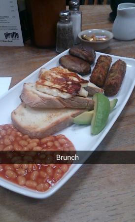 Giraffe - Trafford Centre: Veggie breakfast