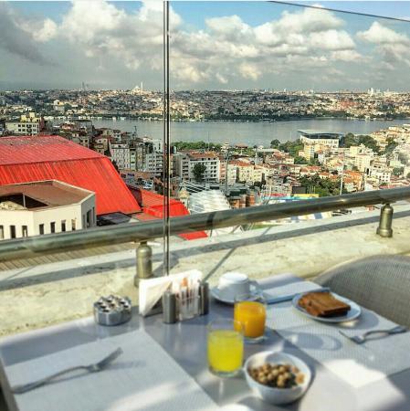 Rixos Taksim Istanbul: вид из ресторана