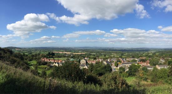 Shaftesbury, UK: Great view!