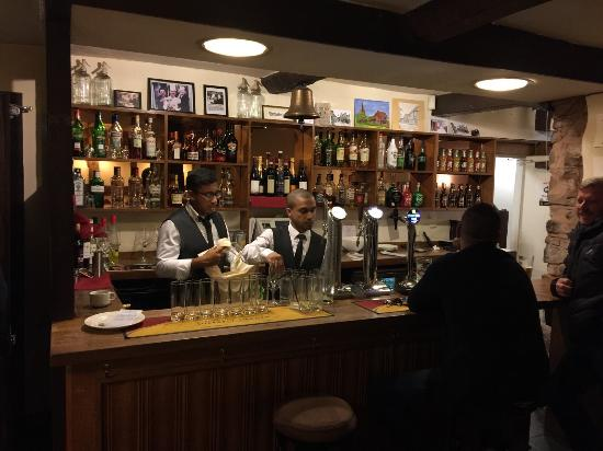 Weobley, UK: our barmen here at LalBagh