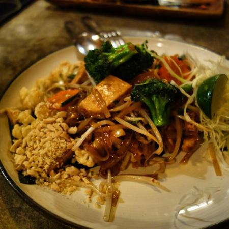 Thai Kitchen Pad Thai vegan pad thai - picture of pai northern thai kitchen, toronto