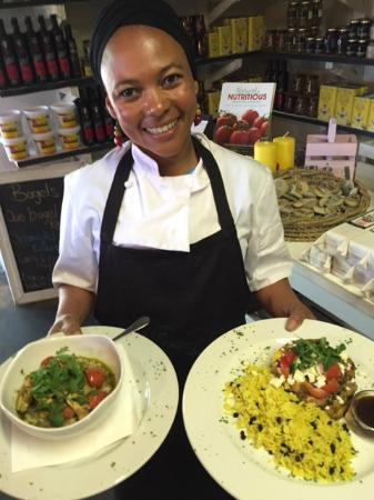 Thyme & Again Farm Stall, Bakery, Cafe : Our Cafe Head Chef, Ayanda!