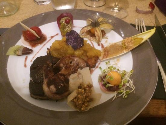 Aulon, France : tournedos de boeuf foie gras façon Rossini