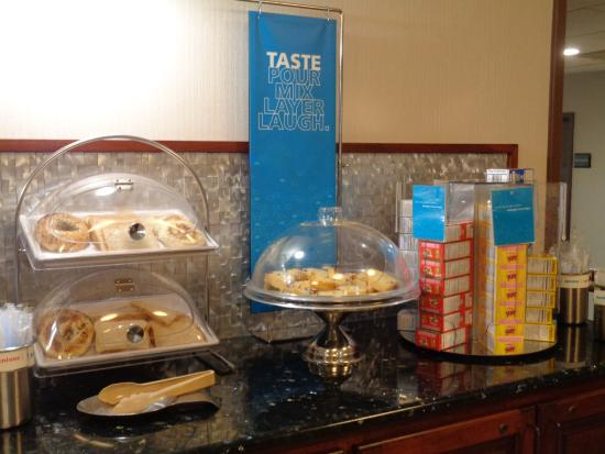 Hampton Inn Hattiesburg: More Breakfast Options