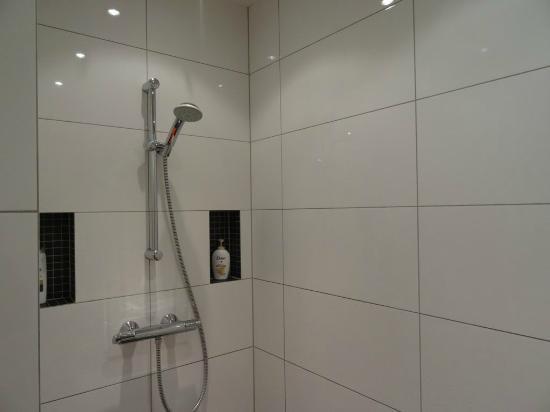Juliana Bed & Breakfast: Modern shower