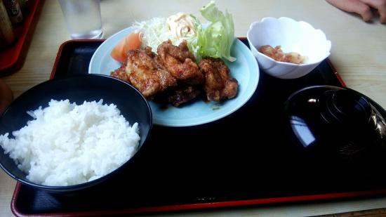 Dinning Ajidokoro Hara: からあげ定食