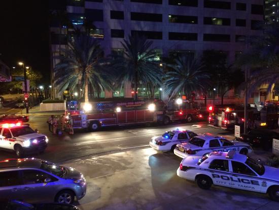 Window View - Aloft Tampa Downtown Photo