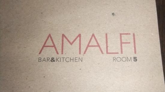 Amalfi Restaurant and Bar: Restaurante