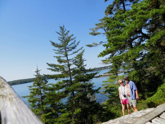 Boothbay Region Land Trust: one of the vistas