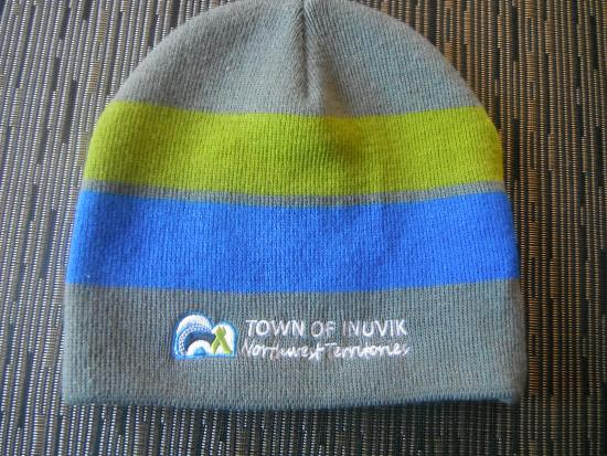 Inuvik, Canada: hat from town hall, cheap souvenir